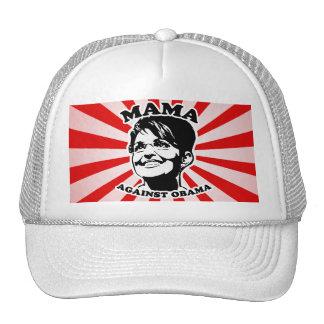 Mama against Obama Trucker Hat