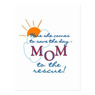 Mamá al rescate postal
