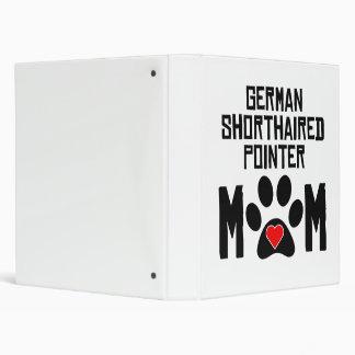 Mamá alemana del indicador de pelo corto