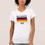 Mamá alemana orgullosa camisetas