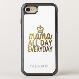 Mama All Day Everyday OtterBox Symmetry iPhone 8/7 Case