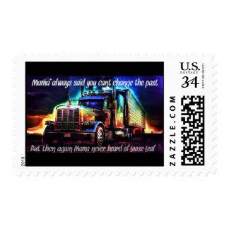 Mama always said.... postage stamp