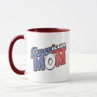 Mamá americana taza