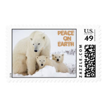 Mama & babies, Peace  onEarth Postage