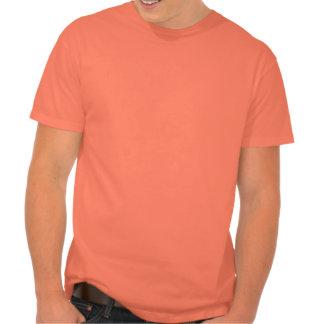 Mamá anaranjada del baloncesto del calor camisetas