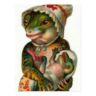 Mama and Baby Frog Postcards