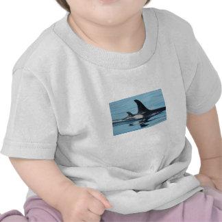 Mama and Baby Orca Shirt