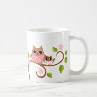 Mama and Baby Owls Mug