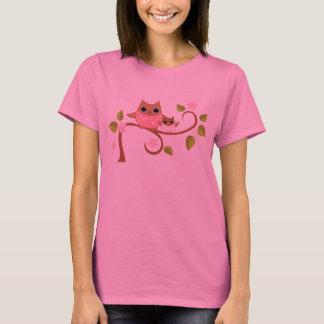 Mama and Baby Owls T-Shirt