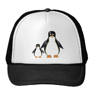 Mama and Baby Penguin  Hat