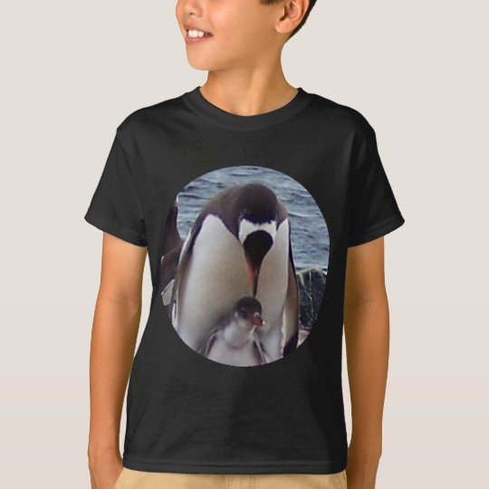 Mama and Baby Penguin T-Shirt