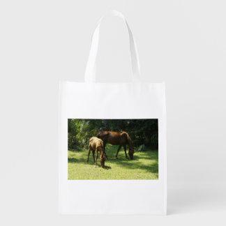 Mama and Baby Reusable Grocery Bag