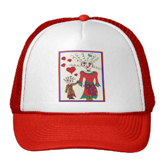 Mama and Elf Love Trucker Hat
