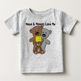 Mama and Mommy Love Me T-shirt