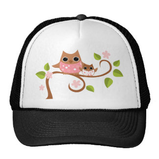 Mama and Owls Trucker Hat