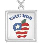 Mamá Apple patriótico de USCG Joyerias