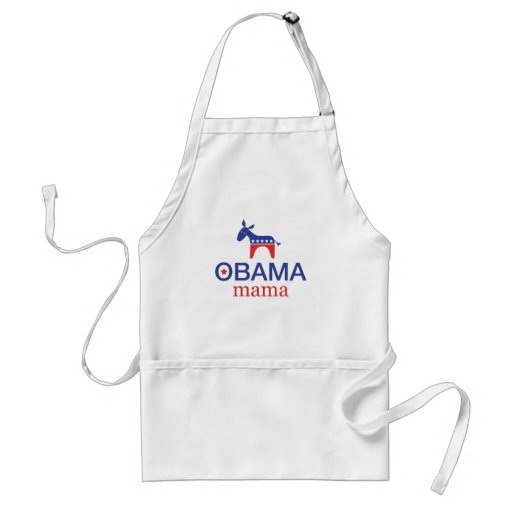 Mamá Apron de Obama Delantal