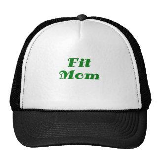 Mamá apta gorras