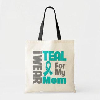 Mamá - ayuda del cáncer ovárico de la cinta del tr bolsa