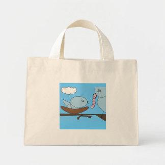 Mama & Baby Bird Diaper Bag/Purse Mini Tote Bag