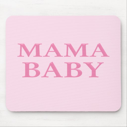Mama Baby Mouse Pad