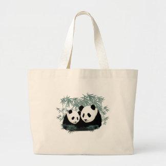 mama & baby  Pandas Jumbo Tote Bag