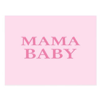 Mama Baby Postcard