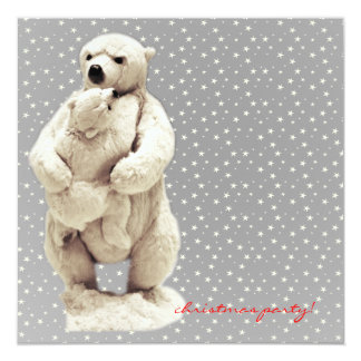 mama bear and teddy bear card