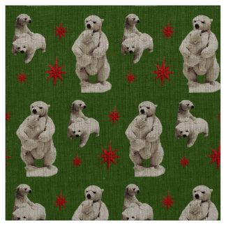 mama bear and teddy bear fabric