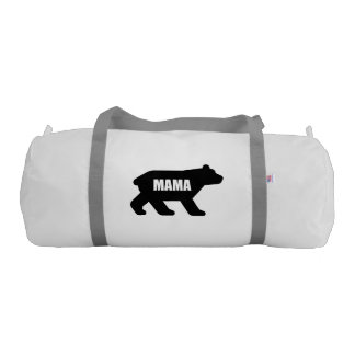 Mama Bear Black Gym Bag