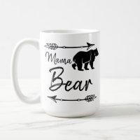 Mama Bear Coffee Amp Travel Mugs Zazzle