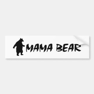 Mama Bear Bumper Sticker
