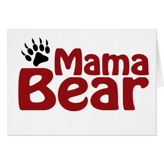 Mama Bear Claw Card