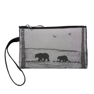 mama bear coin purse