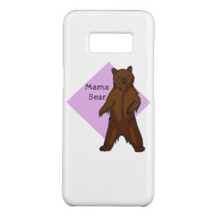Mama Bear Hand Drawn Brown Grizzly Bear Case Mate Samsung Galaxy S8 Case