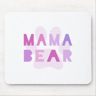 Mama bear mouse pad