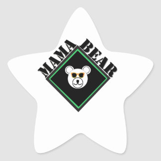 MAMA BEAR SCOUTS HONOR STAR STICKERS