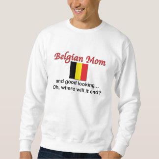 Mamá belga apuesta sudadera