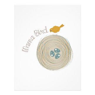 Mama Bird Customized Letterhead