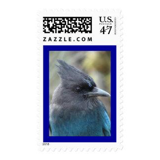 Mama Blue Postage Stamp