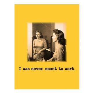 Mamá borracha me nunca significaron para trabajar tarjetas postales