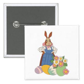 Mamá Bunny con el botón de los huevos Pin