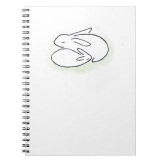 Mamá Bunny Libros De Apuntes Con Espiral