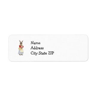 Mama Bunny with Egg Basket Labels