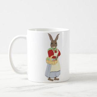 Mama Bunny with Egg Basket Mug