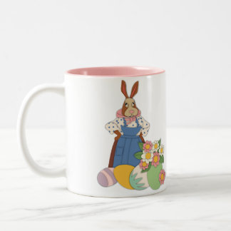 Mama Bunny with Eggs Mug