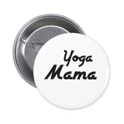 Mamá Button de la yoga Pins