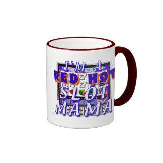 Mamá caliente Mug de la ranura Taza