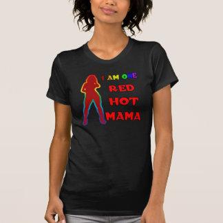Mamá candente camisetas