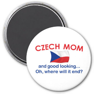 Mamá checa apuesta imán redondo 7 cm